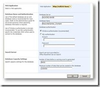 SharePoint, Content Database