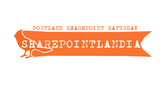 SHAREPOINTLANDIA LOGO - SHAREPOINT SATURDAY PORTLAND