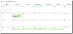 SharePoint Calendar Mini Calendar Montly View