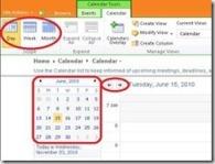 Navigating SharePoint Calendars