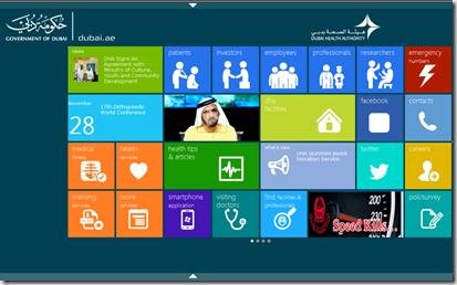 Windows 8 SharePoint Tiles Desktop